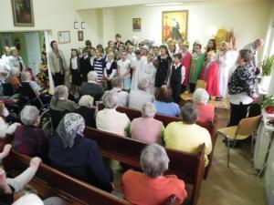 Spotkania z uczniami ze szkoły podstawowej i gimnazjum w Pierzchnicy