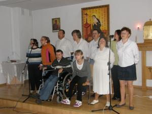Uczestnicy wtz w Osinach